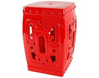 Керамический столик-табурет DG-Home Oriental Stool Red