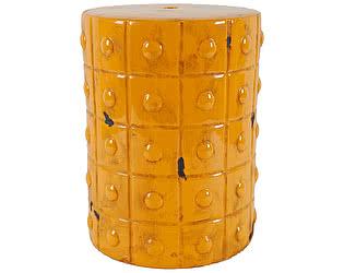 Керамический столик-табурет DG-Home Mustard Stool Orange