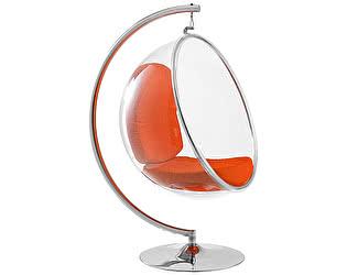 Кресло DG-Home Bubble Chair with Stand Оранжевая Экокожа
