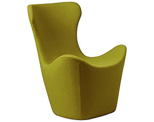 Кресло DG-Home Papilio Lounge Chair Оливковое Кашемир