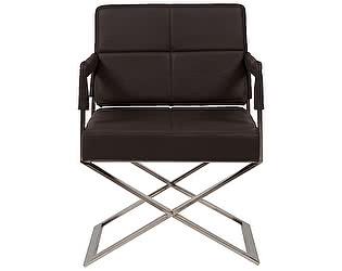 Кресло DG-Home Aster X Chair Темно-коричневая Кожа Класса Премиум