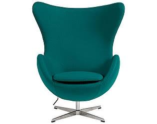 Кресло DG-Home Egg Chair Изумрудное 100% Кашемир