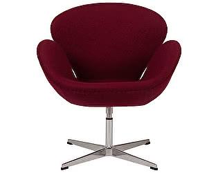 Кресло DG-Home Swan Chair Бордовая Шерсть