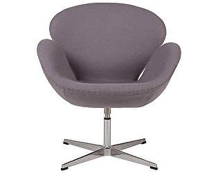 Кресло DG-Home Swan Chair Серая Шерсть