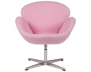 Кресло DG-Home Swan Chair Светло-розовая Шерсть
