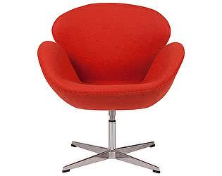 Кресло DG-Home Swan Chair Алая Шерсть
