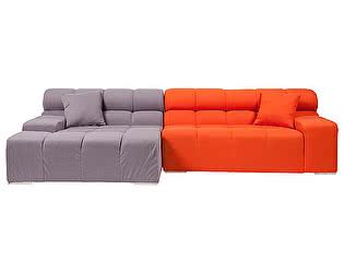 Диван DG-Home Tufty-Time Sofa Серо-оранжевый Шерсть