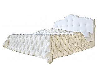 Кровать DG-Home Palace 160х200 Белая Экокожа