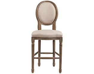Купить стул DG-Home Барный Vintage French Round Кремовый Лен