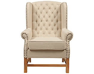 Кресло DG-Home French Provincial Armchair Белый Лен
