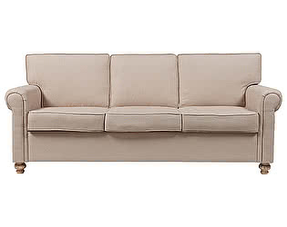 Диван DG-Home The Pettite Lancaster Upholstered Sofa Кремовый Лен