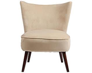Кресло DG-Home Vermont Chair Бежевый Велюр