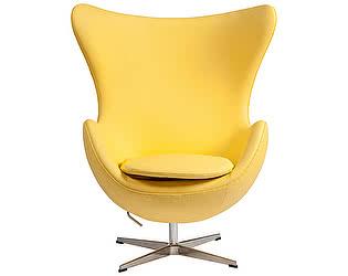 Кресло DG-Home Egg Chair Желтая Кожа Класса Премиум