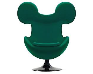Кресло DG-Home Egg Mickey Зеленое 100% Шерсть