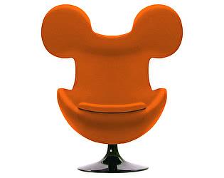 Кресло DG-Home Egg Mickey Оранжевое 100% Шерсть