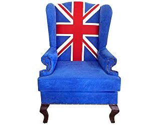 Каминное кресло DG-Home Union Jack classic