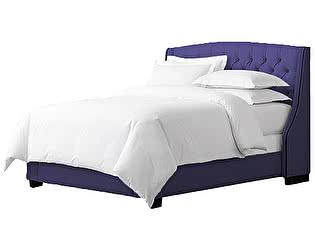 Кровать DG-Home Hugo 180х200 Велюр Cиний