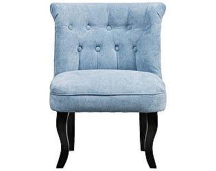 Кресло DG-Home Dawson Голубой Велюр