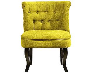 Кресло DG-Home Dawson Жёлтый Велюр