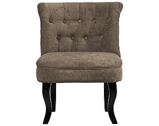 Кресло DG-Home Dawson Серо-Коричневый Велюр