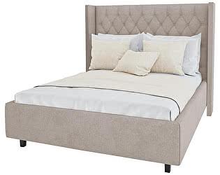 Кровать DG-Home Wing-2 140х200 Велюр Серый