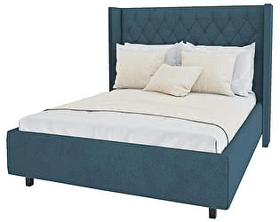 Кровать DG-Home Wing-2 180х200 Велюр Морская волна