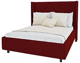 Кровать DG-Home Wing-2 200х200 Велюр Красный