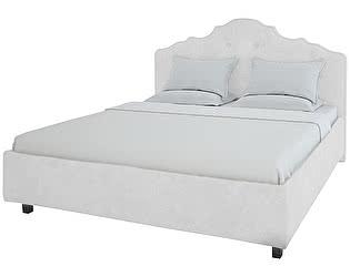 Кровать DG-Home Palace 140х200 Велюр Молочный