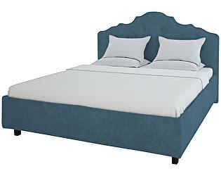 Кровать DG-Home Palace 140х200 Велюр Морская волна