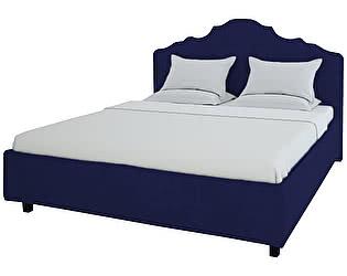 Кровать DG-Home Palace 140х200 Велюр Синий