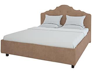 Кровать DG-Home Palace 160х200 Велюр Светло-коричневый