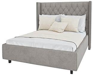 Кровать DG-Home Wing-2 160х200 Лён Коричневый
