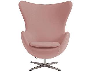 Кресло DG-Home Egg Chair Светло-розовое 100% Шерсть