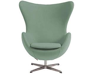 Кресло DG-Home Egg Chair цвета Тиффани 100% Шерсть