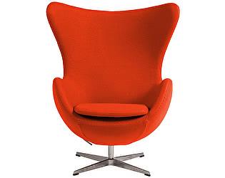 Кресло DG-Home Egg Chair Морковное 100% Шерсть