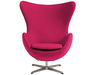 Кресло DG-Home Egg Chair Розовое 100% Шерсть