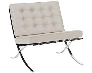 Кресло DG-Home Barcelona Chair Молочная Кожа Класса Премиум