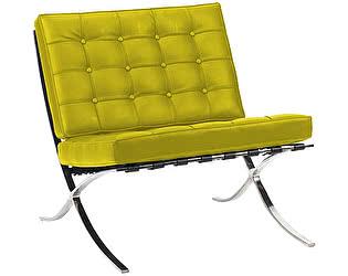 Кресло DG-Home Barcelona Chair Лимонная Кожа Класса Премиум
