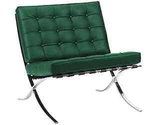 Кресло DG-Home Barcelona Chair Зелёная Кожа Класса Премиум