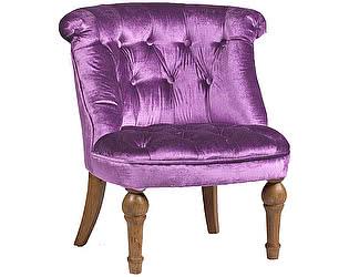 Кресло DG-Home Sophie Tufted Slipper Chair Лиловый Микровелюр