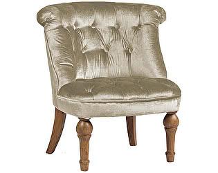 Кресло DG-Home Sophie Tufted Slipper Chair Молочный Микровелюр