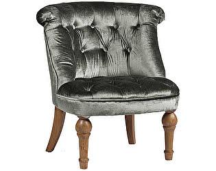 Кресло DG-Home Sophie Tufted Slipper Chair Серый Микровелюр