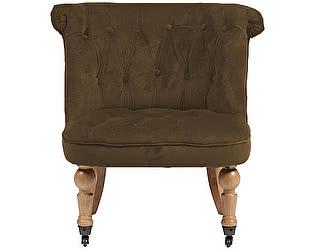 Кресло DG-Home Amelie French Country Chair Тёмно- Коричневый Велюр