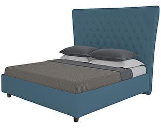 Кровать DG-Home QuickSand 140х200 Велюр Морская волна
