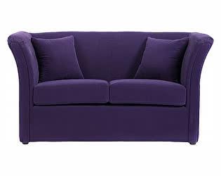 Диван DG-Home Hollis Фиолетовый Велюр