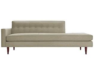 Диван DG-Home Bantam Studio Sofa Светло-Серый Микровелюр