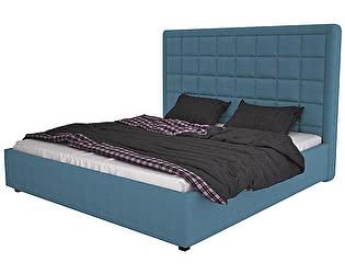 Кровать DG-Home Elizabeth 140х200 Велюр Морская волна
