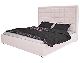 Кровать DG-Home Elizabeth 180х200 Велюр Пыльная роза