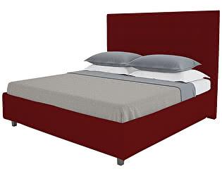 Кровать DG-Home Royal Black 140х200 Велюр Красный
