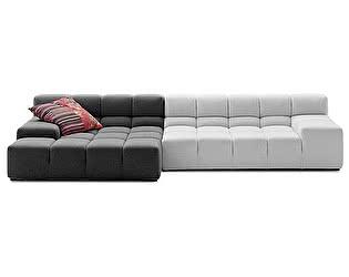 Диван DG-Home Tufty-Time Sofa Бело-Серая шерсть